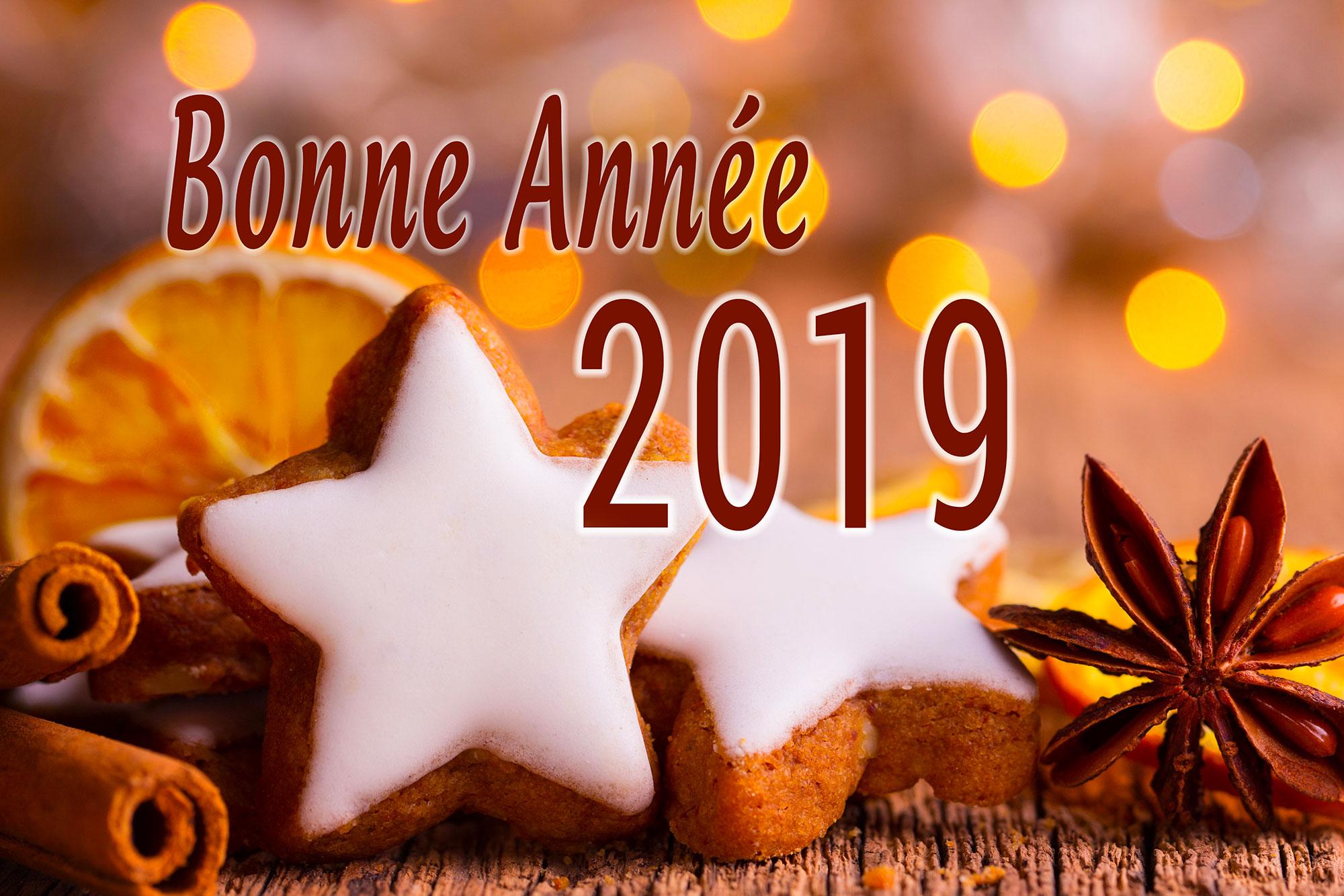 Une belle année 2019 !